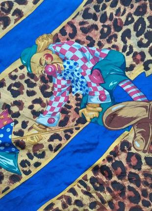 Chris arnold подписной шелковый платок