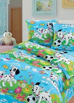 Комплект детского постельного белья из натурального хлопка
