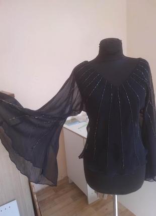Блуза прозрачная 42-44