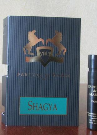 Парфюмированная вода shagya parfums de marly 1,2 мл