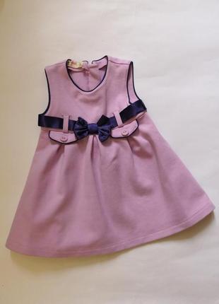 Красивое брендовое платье prenatal на 9-12 месяцев, рост 76 см