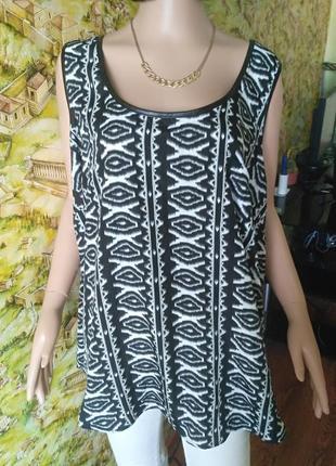Майка,блузка большого размера