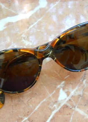 Крутые детские очки бабочки, кошачий глаз, солнцезащитные, леопардовые
