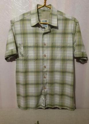 Фирменная рубашка (пог-52 см)