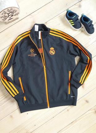 Крутая ветровка, спортивная куртка, олимпийка adidas real madrid 11-12 л