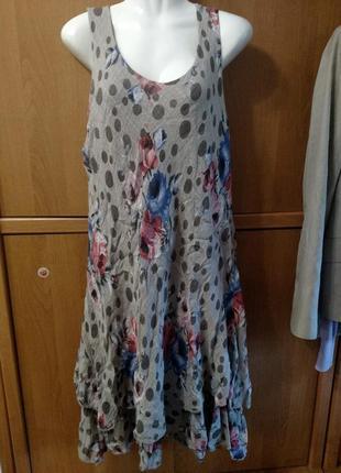 Платье италия сотон вискоза