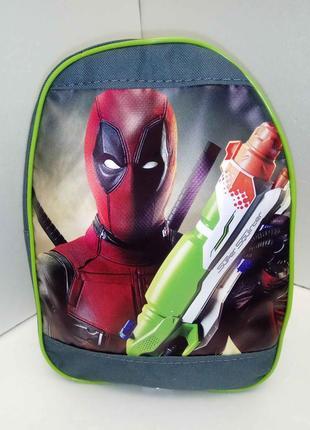 Новый рюкзак для мальчика дэдпул
