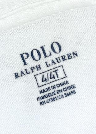 Бесплатная доставка! фирменный белый свитер ralph lauren на мальчика/девочку 4 года7 фото