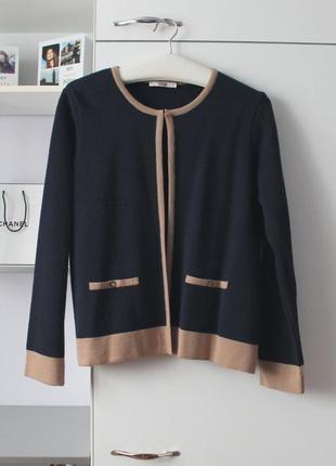 Пиджак в стиле шанель кофта 12-14 р хл