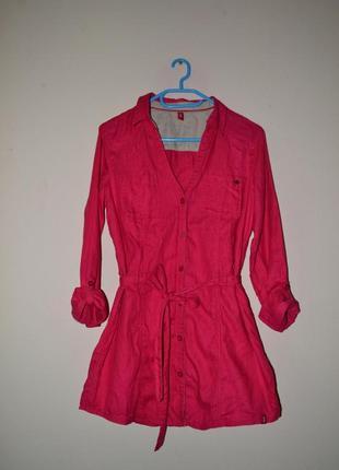 Платье- рубашка-туника edc. размер m.