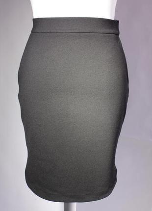 Стильная черная миди юбка из джерси от & other stories размер м/38/10.