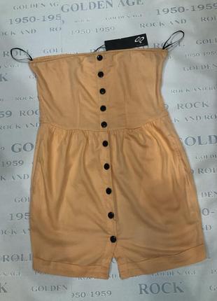 Красивый легкий брендовый сарафан платье
