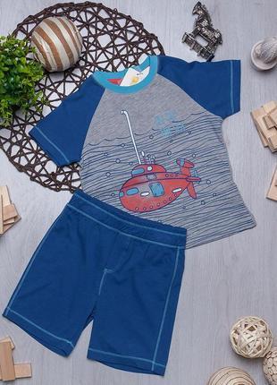 Летний комплект футболка и шорты для мальчика ovs италия