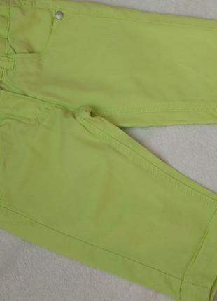 Сочные шорты капри бриджи avenue на 5-6 лет рост 110-116 см