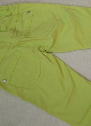 Сочные шорты капри бриджи avenue на 5-6 лет рост 110-116 см2 фото
