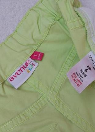 Сочные шорты капри бриджи avenue на 5-6 лет рост 110-116 см6 фото
