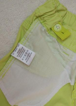 Сочные шорты капри бриджи avenue на 5-6 лет рост 110-116 см7 фото