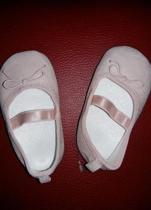 17 модные туфельки пинетки h&m