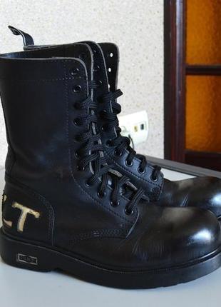 Кожаные ботинки cult. италия.