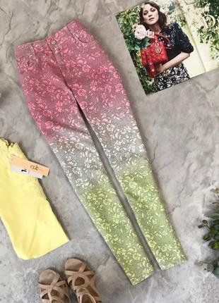 Летние джинсы яркого цвета  pn1922083 topshop
