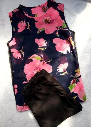 Комплект шорты и блуза