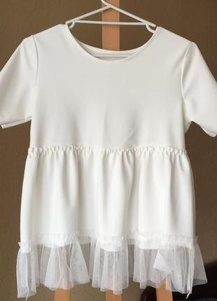 Нарядная футболка, блуза