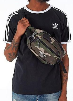 Оригинал сумка adidas hip pack cargo