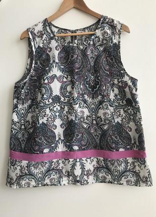 Блуза без рукавов хл made in india