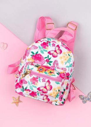 Рюкзак принт цветы