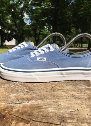 Кеды vans original old skool синие