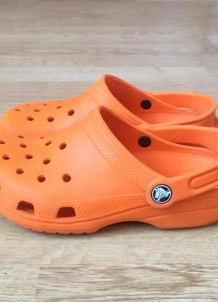 Кроксы crocs оригинал 33/34 размера в отличном состоянии