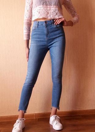 43eb0862f4710 Голубые джинсы, женские 2019 - купить недорого вещи в интернет ...