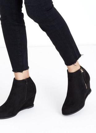Акция 1+1=3🛍 замшевые ботинки new look