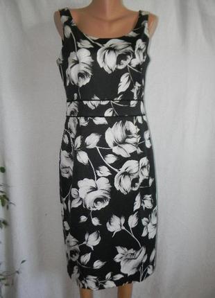 Элегантное натуральное платье