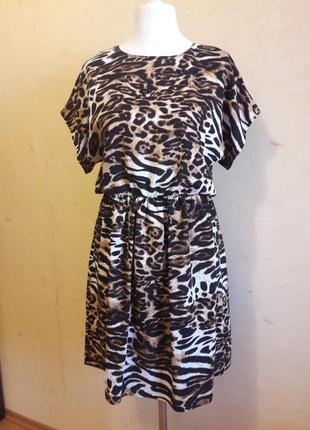 Тренд 2019!!! леопардовое платье!!!