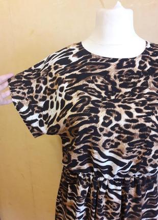 Тренд 2019!!! леопардовое платье!!!3 фото