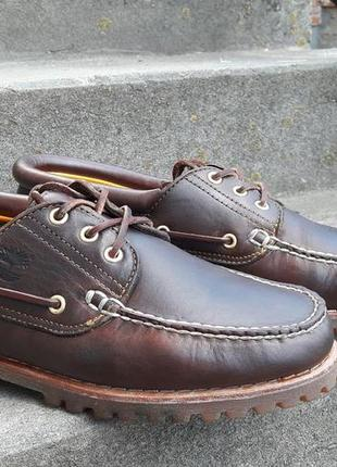 Топсайдеры премиум класса timberland 42 (9w 27 см.) туфли мокасины