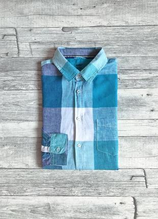 Мужская льняная рубашка celio