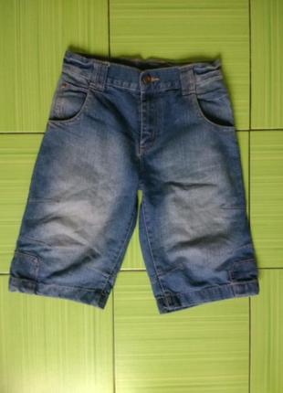 Джинсовые шорты cherokee, 140 размер, в идеале, качество