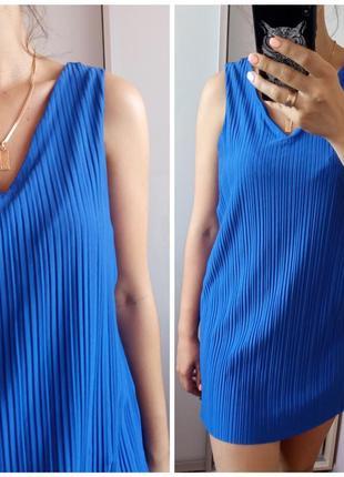 Удлиненная блуза майка без рукавов