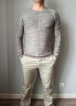 Легкий пуловер свитер кардиган кофта redhering