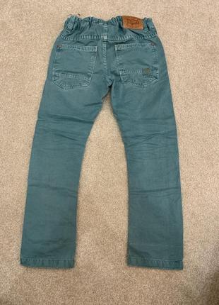 Стильные джинсы в стиле чинос next 104-110 cм