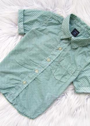 Стильная рубашка с коротким рукавом gap
