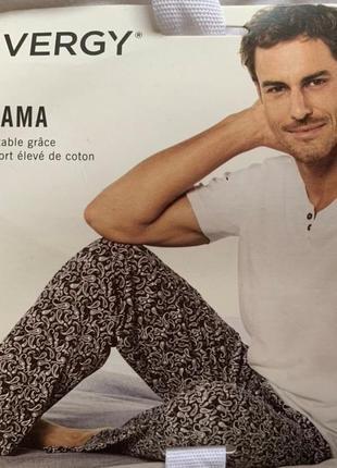 Отличная хлопковая пижама, домашний костюм, германия ( размер 48-50)
