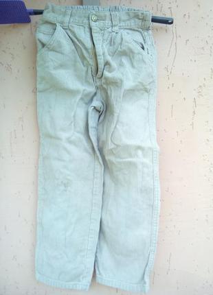 Детские вельветовые джинсы