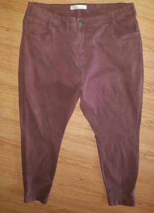 Стрейчевые джинсы зауженые