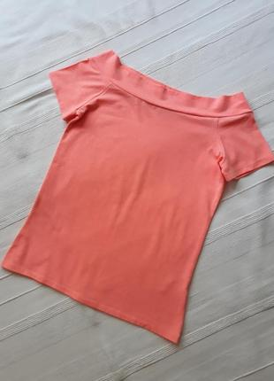 Atmosphere новая яркая летняя футболка#майка#топ, открытые#спущенные плечи.