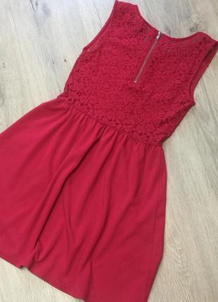 Платье с ажурной спинкой2 фото