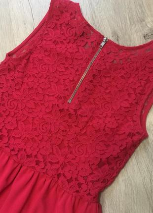Платье с ажурной спинкой4 фото