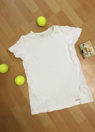 Белая футболка demix